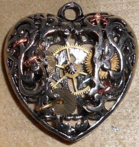 Completed Steampunk Heart