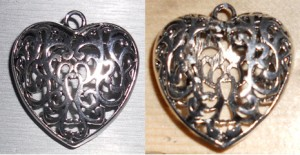 Heart Pendant Base & Ripped