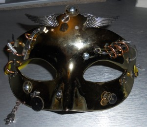 Masquerade Mask Day 3 Front