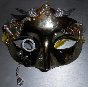 Masquerade Mask Day 4 Front