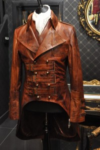 Impero Leather London Steampunk Jacket