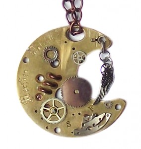 Steampunk Necklace 01