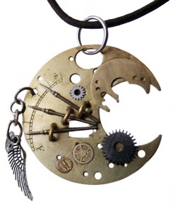 Steampunk Necklace 03