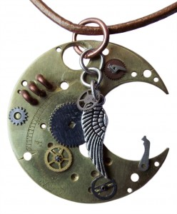 Steampunk Necklace 04